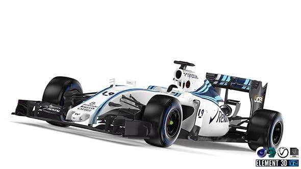 Williams FW37 - 3DOcean Item for Sale