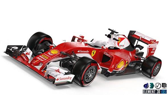Ferrari SF16H - 3DOcean Item for Sale