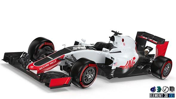 Haas 2016 F1 - 3DOcean Item for Sale