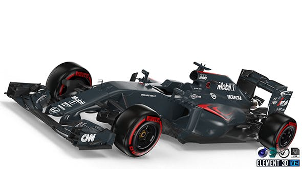 McLaren 2016 F1 - 3DOcean Item for Sale