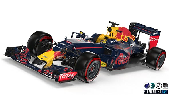 RedBull 2016 F1 - 3DOcean Item for Sale