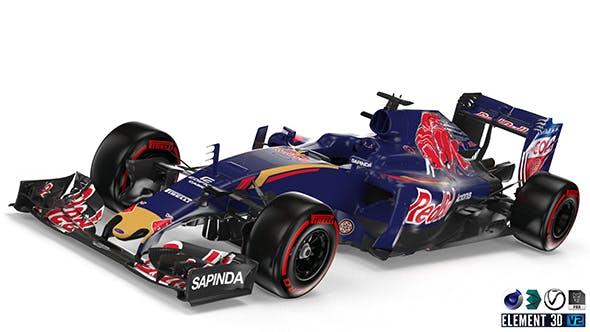 Toro Rosso 2016 F1 - 3DOcean Item for Sale