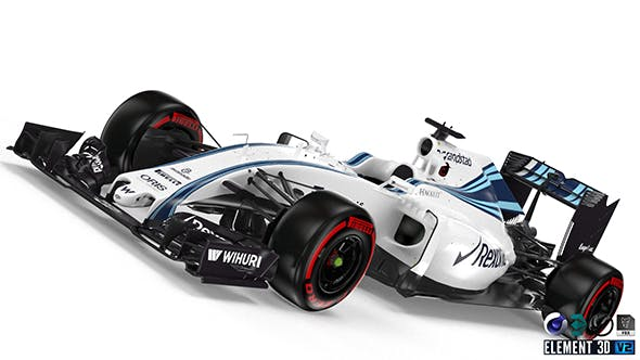Williams FW38 - 3DOcean Item for Sale