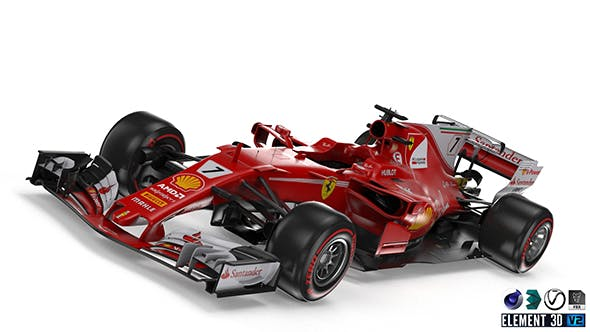 Ferrari SF-70H - 3DOcean Item for Sale
