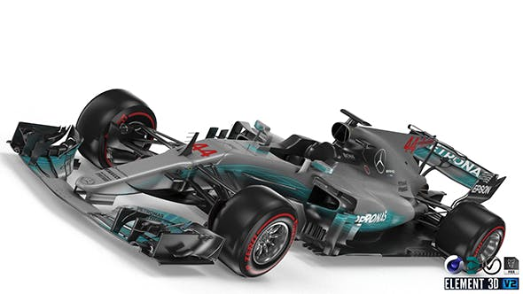 Mercedes W08 - 3DOcean Item for Sale