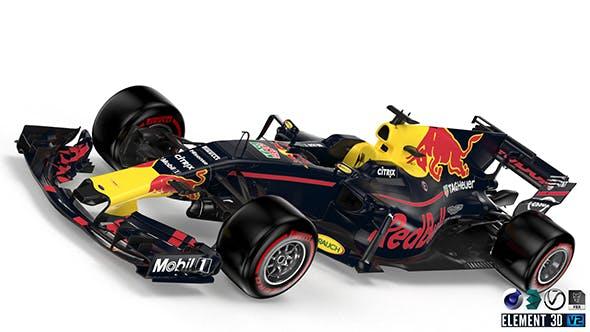RedBull 2017 F1 - 3DOcean Item for Sale