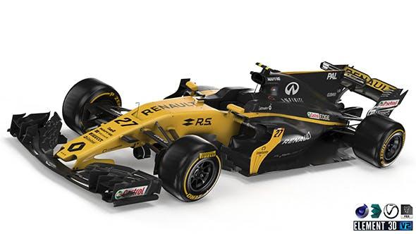 Renault R.S17 - 3DOcean Item for Sale