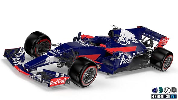 Toro Rosso 2017 F1 - 3DOcean Item for Sale