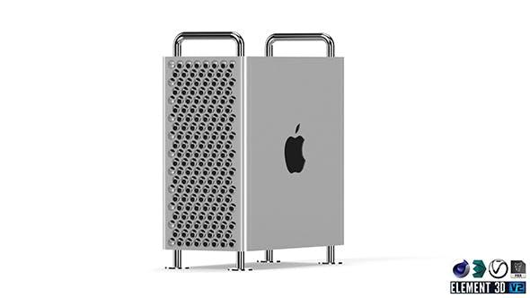 Apple Mac Pro -  Element 3D - 3DOcean Item for Sale