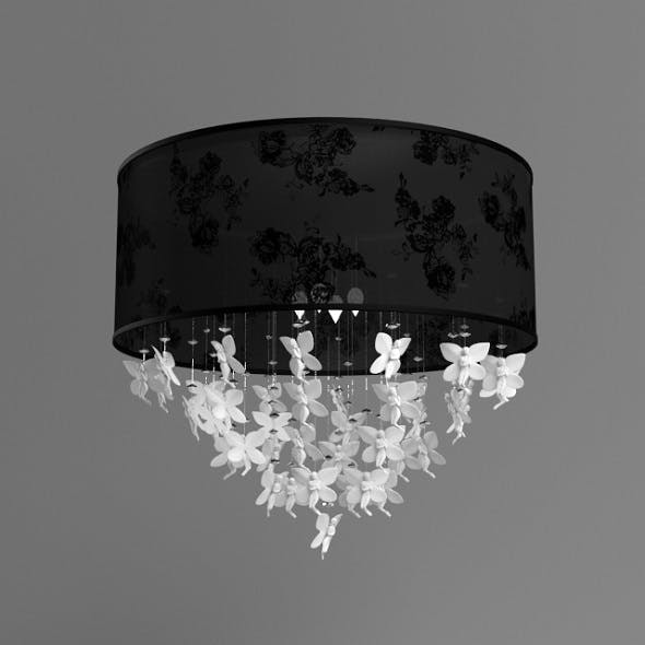 Ceiling light with fairies - 3DOcean Item for Sale
