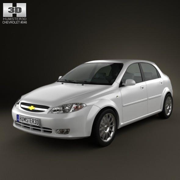 Chevrolet Lacetti Hatchback 2011 - 3DOcean Item for Sale