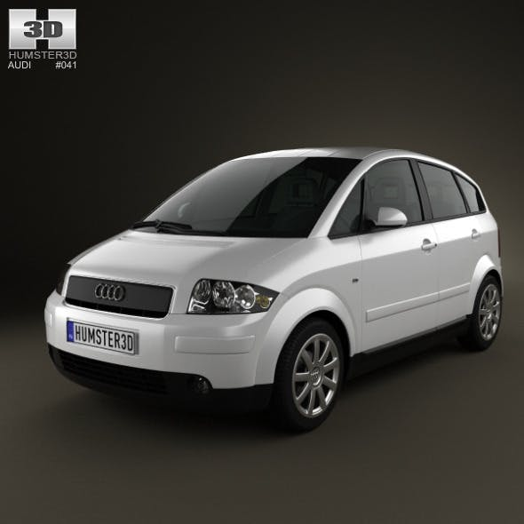 Audi A2 2005 - 3DOcean Item for Sale