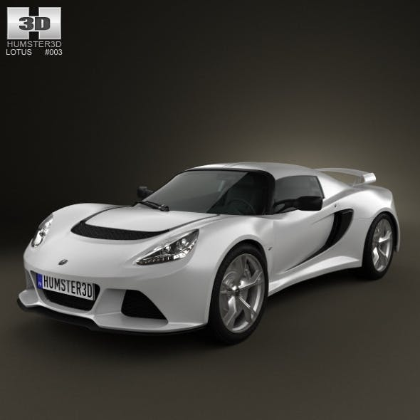 Lotus Exige S 2012 - 3DOcean Item for Sale