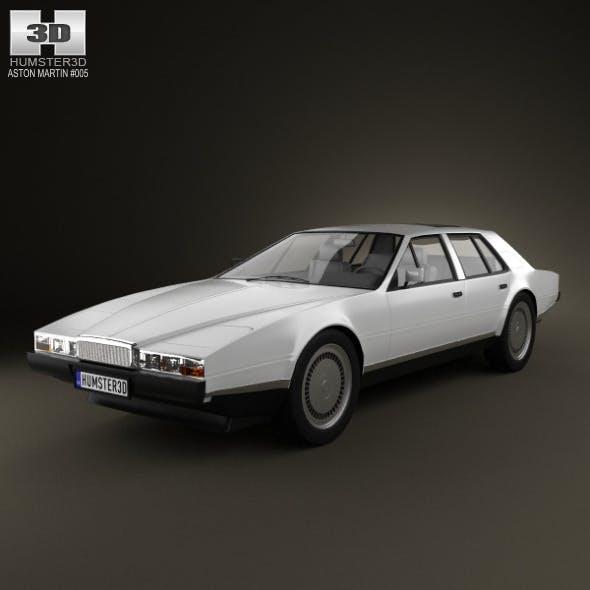 Aston Martin Lagonda 1985 - 3DOcean Item for Sale