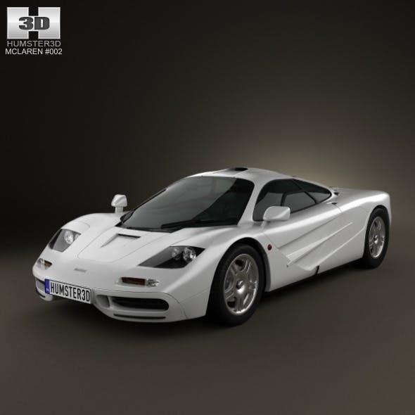 McLaren F1 1995 - 3DOcean Item for Sale
