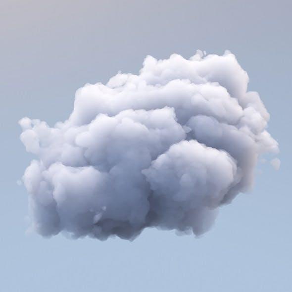 Polygon Cloud 2 - 3DOcean Item for Sale