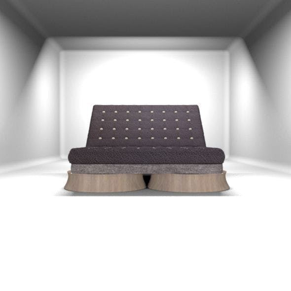 Custom Sofa Bed 3D - 3DOcean Item for Sale