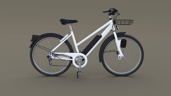 Electric Bicycle - 3DOcean Item for Sale