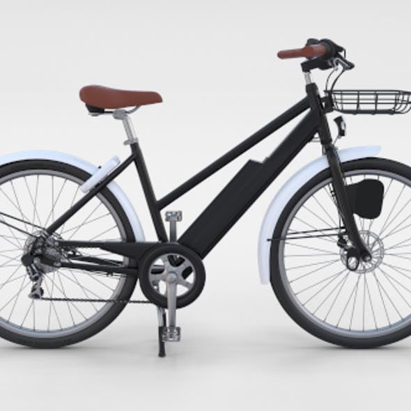 Electric Bicycle Black