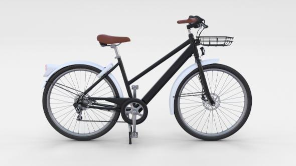 Generic Bicycle Black - 3DOcean Item for Sale