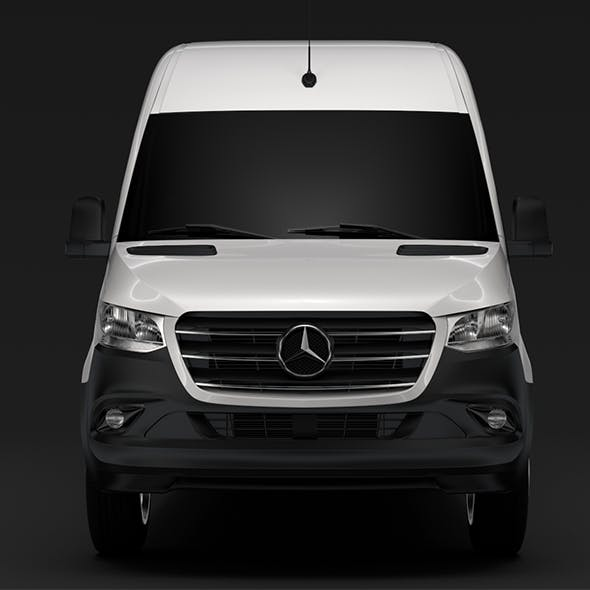 Mercedes Benz Sprinter Panel Van L2H2 RWD 2019 - 3DOcean Item for Sale