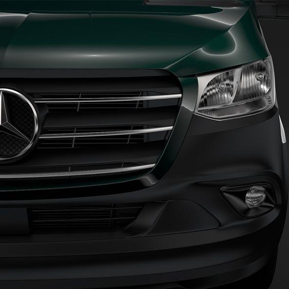 Mercedes Benz Sprinter Panel Van L3H3 RWD 2019 - 3DOcean Item for Sale