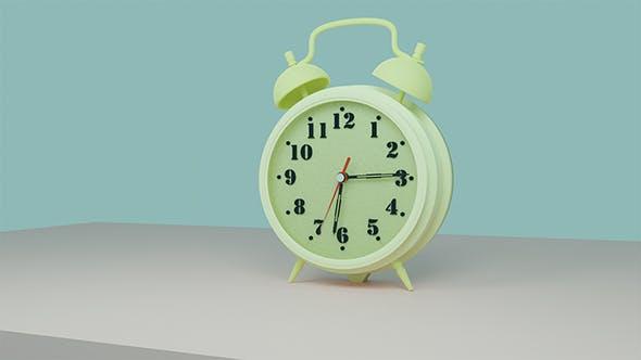 Retro Clock - 3DOcean Item for Sale