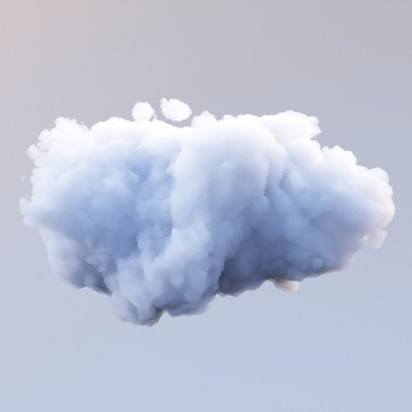 Polygon Cloud 7 - 3DOcean Item for Sale