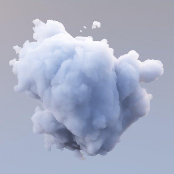 Polygon Cloud 10 - 3DOcean Item for Sale