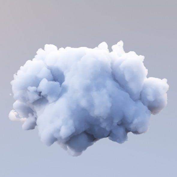 Polygon Cloud 11 - 3DOcean Item for Sale