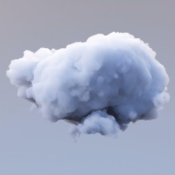 Polygon Cloud 12 - 3DOcean Item for Sale