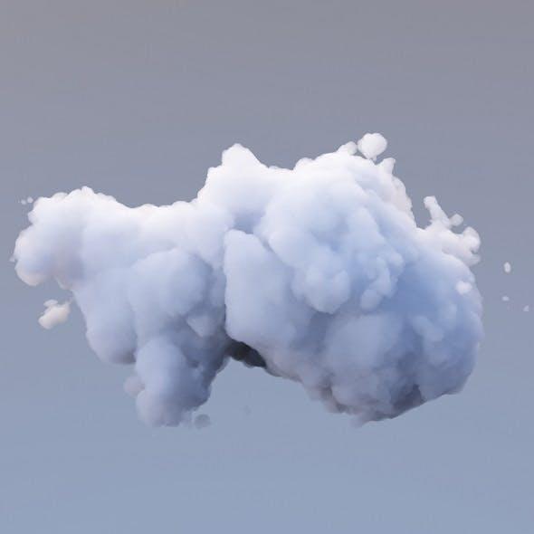 Polygon Cloud 14 - 3DOcean Item for Sale