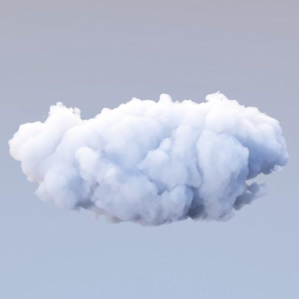 Polygon Cloud 16 - 3DOcean Item for Sale