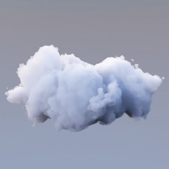 Polygon Cloud 17 - 3DOcean Item for Sale