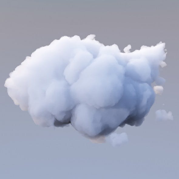 Polygon Cloud 18 - 3DOcean Item for Sale