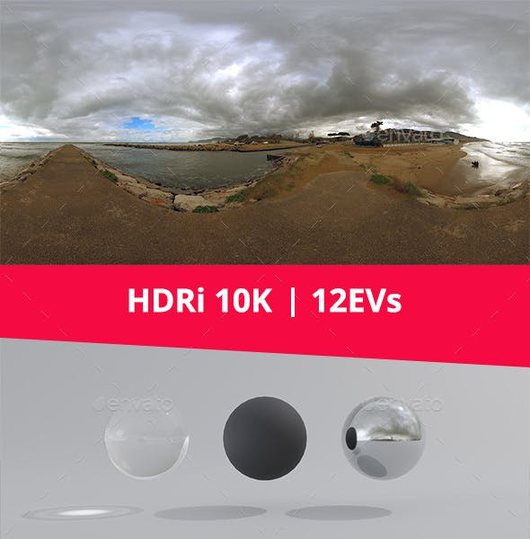 HDRi - Sea, Sky and Nature - 3DOcean Item for Sale