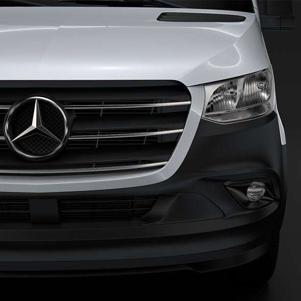 Mercedes Benz Sprinter Panel Van L2H1 RWD 2019 - 3DOcean Item for Sale