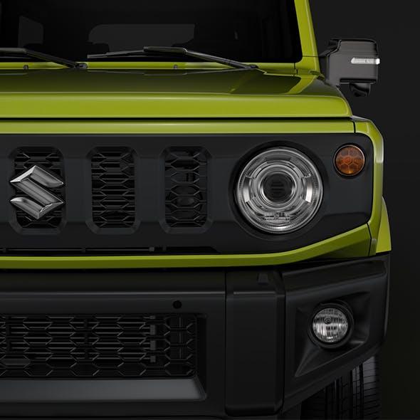 Suzuki Jimny XC 2019 - 3DOcean Item for Sale