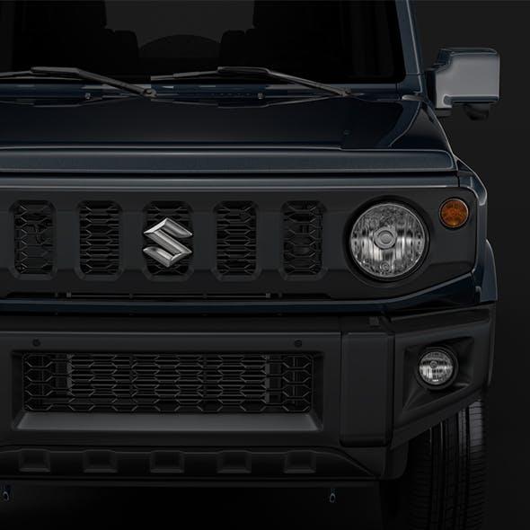 Suzuki Jimny XL 2019 - 3DOcean Item for Sale