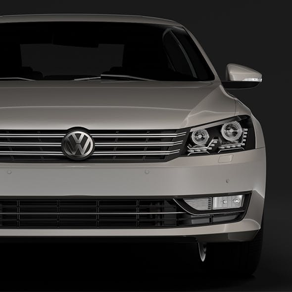 Volkswagen Passat China NMS 2016 - 3DOcean Item for Sale