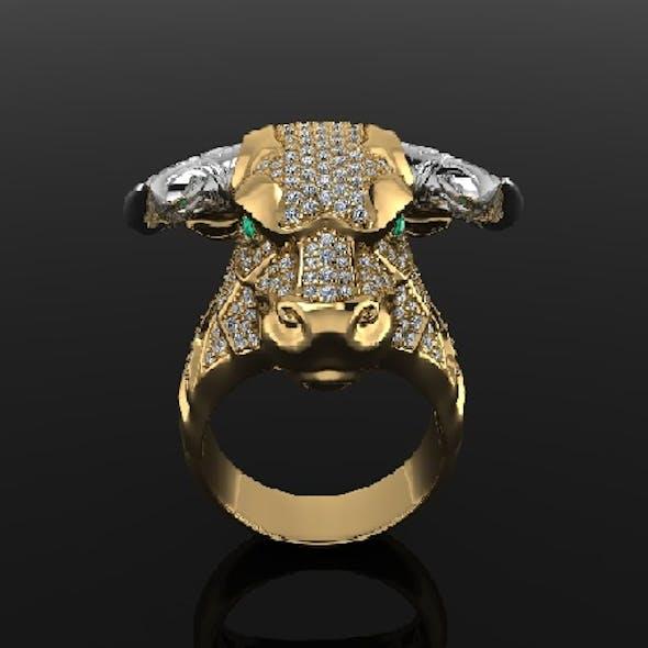 bull head ring