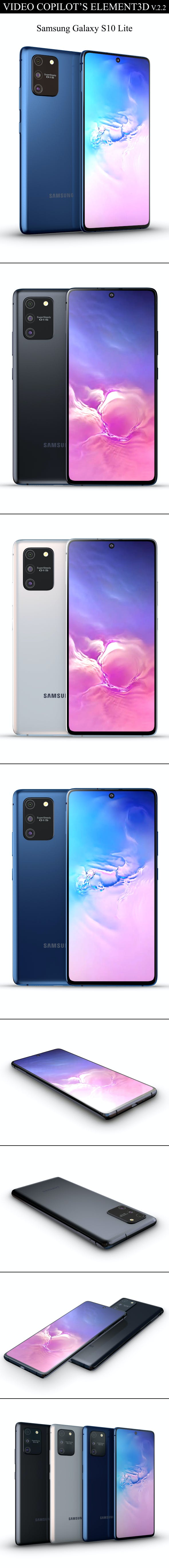 Element3D - Samsung Galaxy S10 Lite - 3DOcean Item for Sale