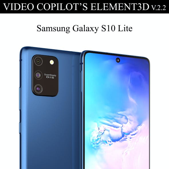 Element3D - Samsung Galaxy S10 Lite