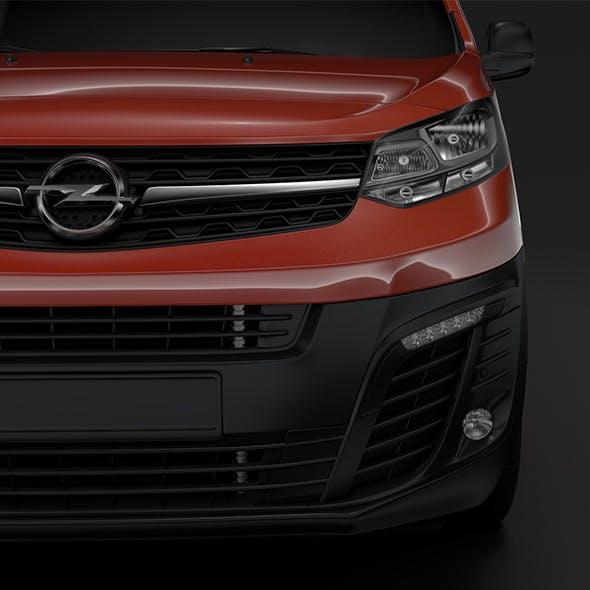 Opel Vivaro Van L1 2019 - 3DOcean Item for Sale