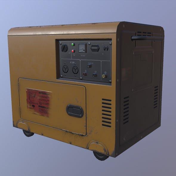 Diesel Generator - 3DOcean Item for Sale