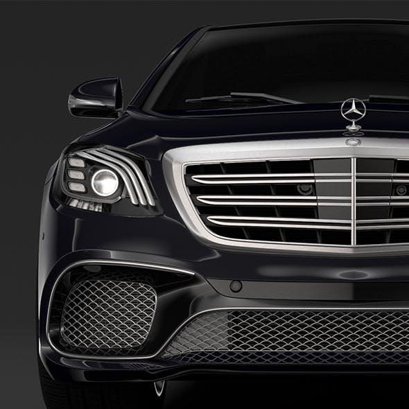 Mercedes AMG S 65 V222 2018 Lang - 3DOcean Item for Sale
