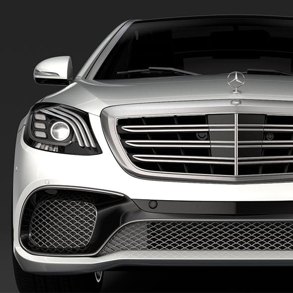 Mercedes AMG S 65 W222 2018 - 3DOcean Item for Sale
