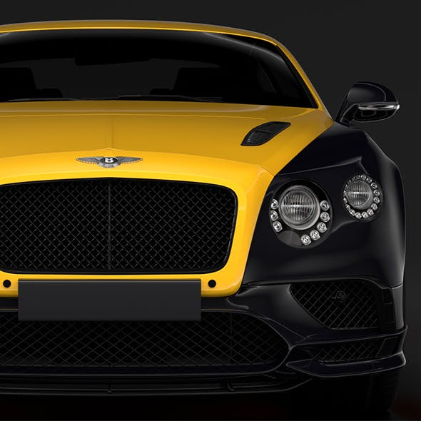 Bentley Continental GT Continental 24 2018 - 3DOcean Item for Sale