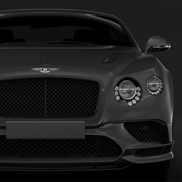Bentley Continental Supersport 2018 - 3DOcean Item for Sale