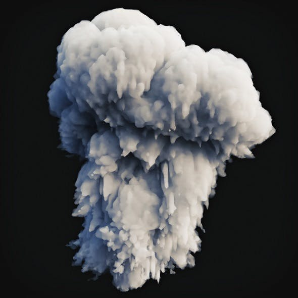 Smoke Explosion 1 - 3DOcean Item for Sale